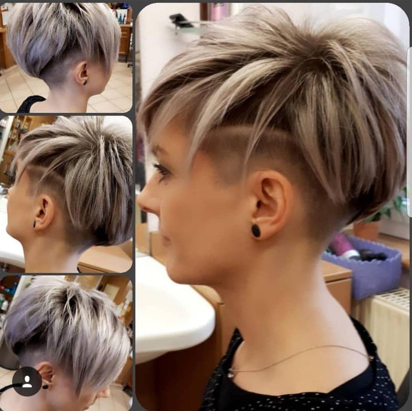 Pin Von Lopi Pals Auf Coiffure Schone Frisuren Kurze Haare Kurzhaarschnitte Kurzhaarfrisuren