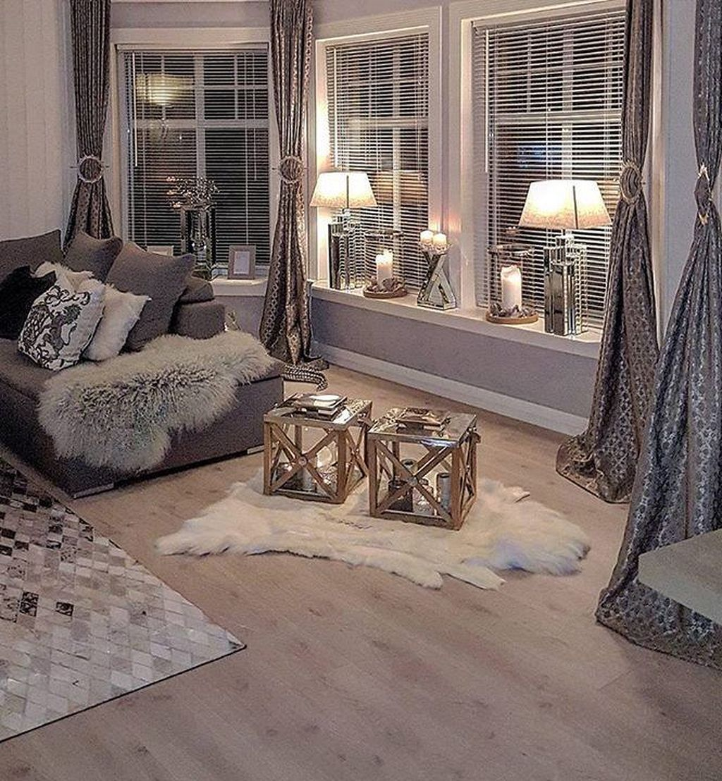 Lovely Vintage Living Room Ideas With Glamour Furniture: Cozy Glam Living Room Ideas 65 (With Images)