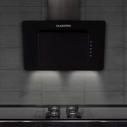 Lorea Dunstabzugshaube kopffrei 65 W 60 cm 290 m³/h Touch Glas schwarz KlarsteinKlarstein #touchpanel