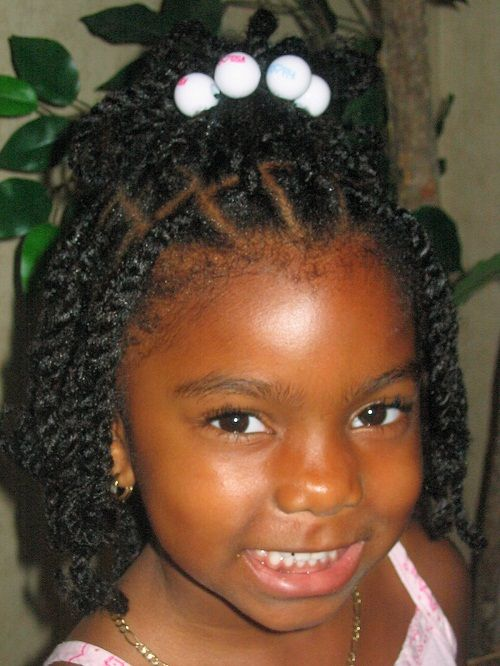 Top 10 Cute Kid Hairstyles For Little Black Girls Blackhairclub Com The Ultimate Source Fo Toddler Hairstyles Girl Black Kids Hairstyles Little Girl Braids