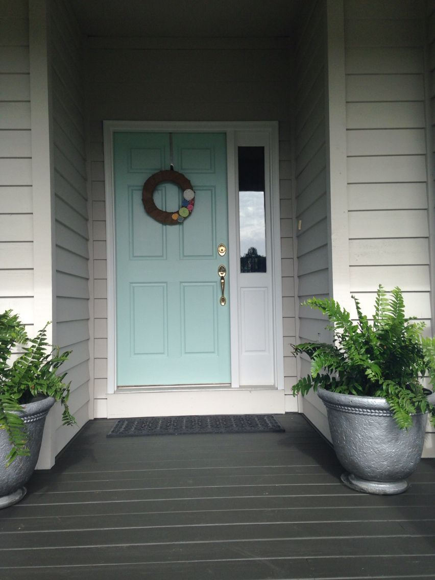 Sherwin Williams waterscape front door