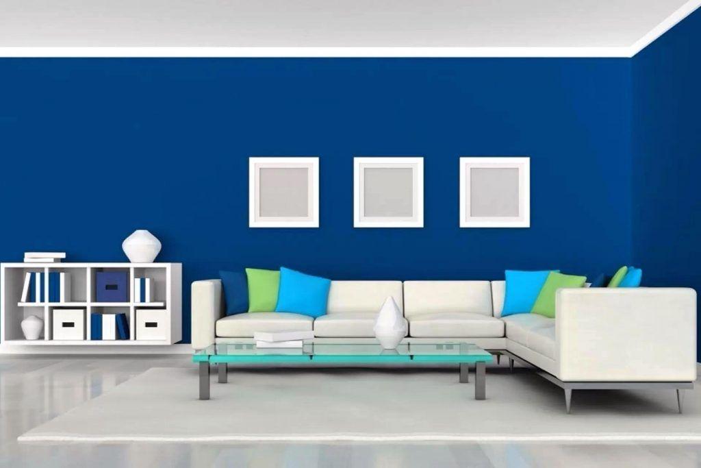 Warna Cat Ruang Tamu Yang Bagus Biru