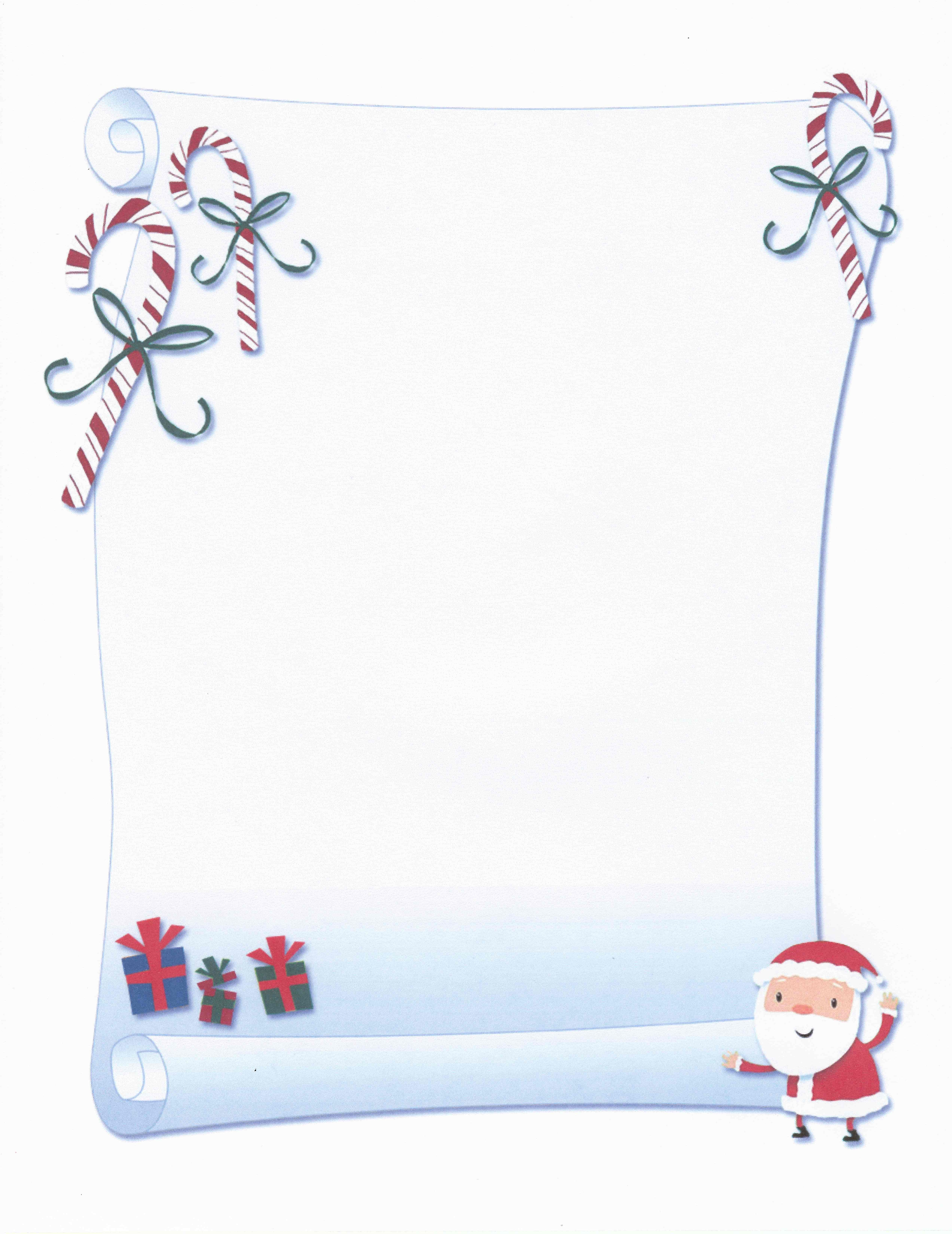 image relating to Printable-christmas referred to as PRINTABLE SANTA SCROLL Certification STATIONERY Stationary