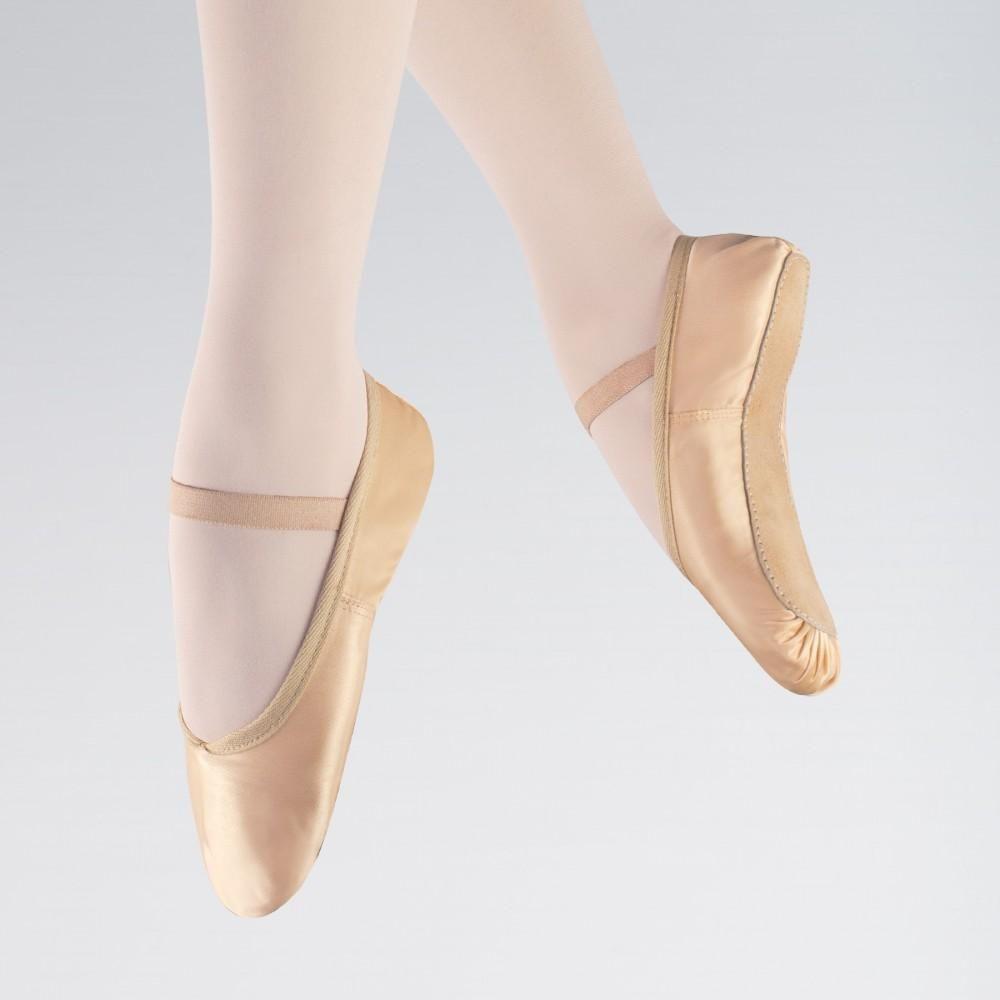 Basic Satin Ballet Shoes dazzle-dancewear.co.uk