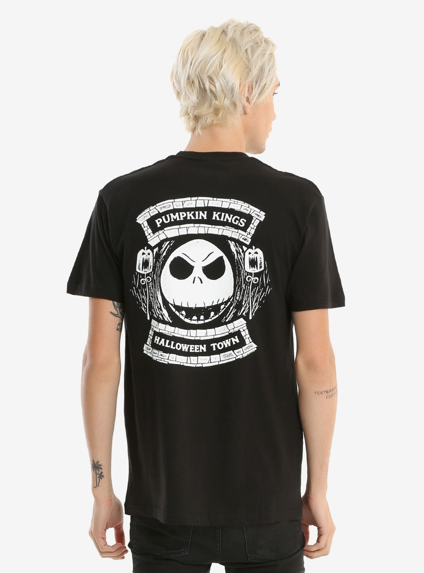 The Nightmare Before Christmas Pumpkin Kings Club T-Shirt ...