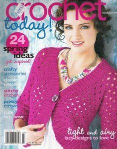 Crochet Today Magazine Wwwcrochettodaycom Crochettoday