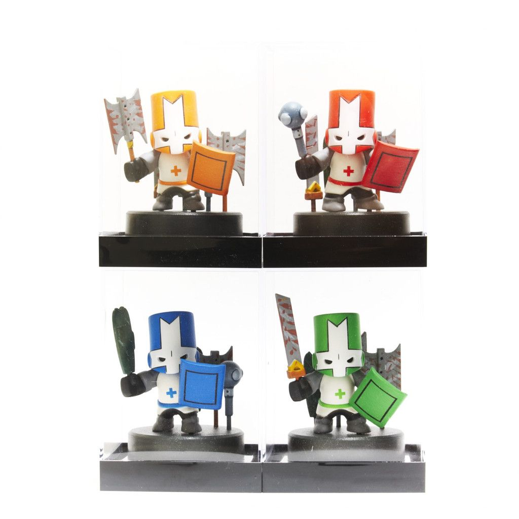 What a deal all 4 knights for only 60 thats one knight for alien hominid castle crashers battleblock theater and pit people merchandise publicscrutiny Choice Image