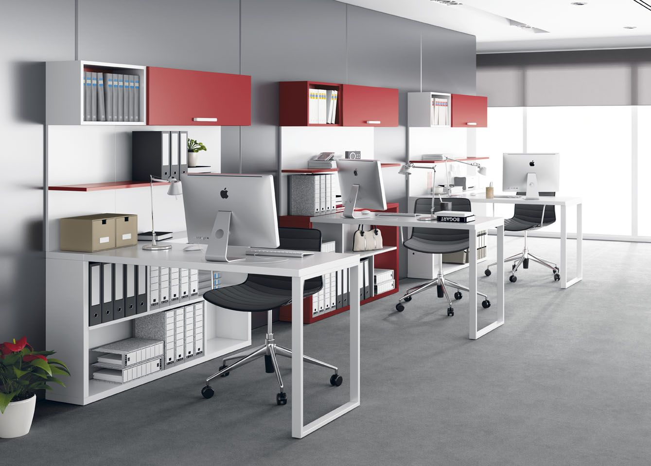 Oficina moderna decoracion buscar con google design for Decoracion oficina