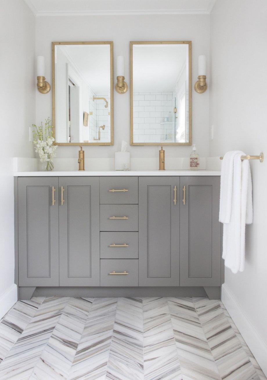 122 Modern Small Bathroom Tile Ideas | Small bathroom tiles, Modern ...