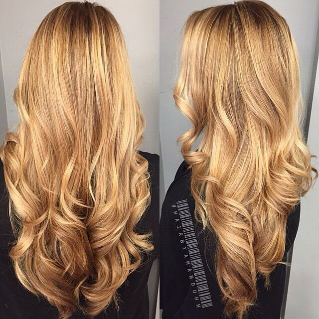 ✂☆* Hair Style* ☆✂ Lovely golden color | ✂ ℋair Color & Styles ...