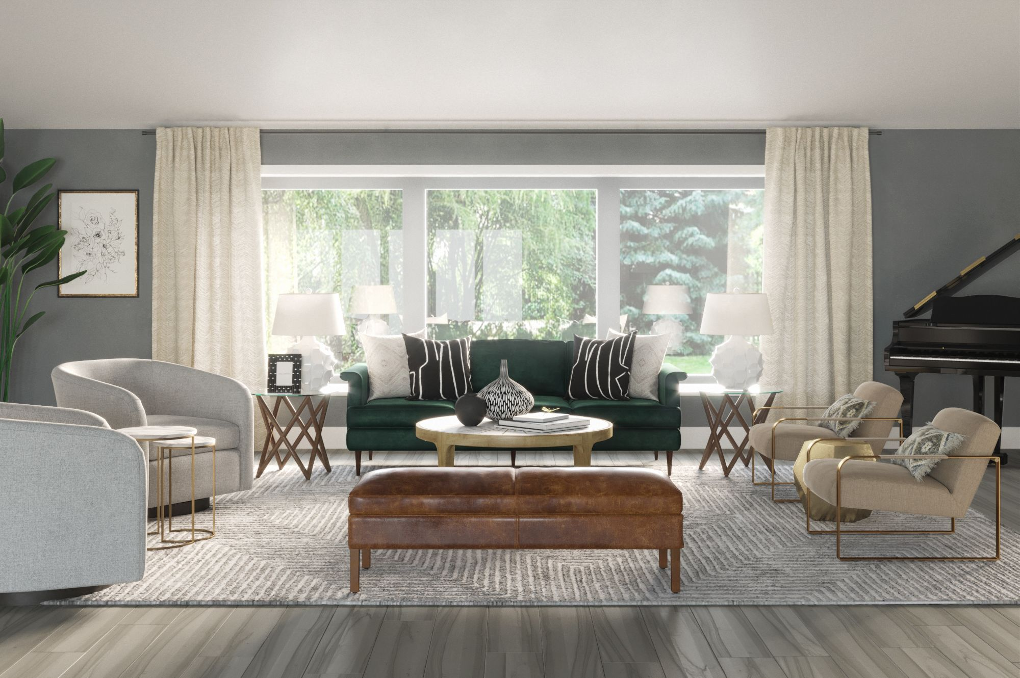 Online Interior Design and Home Decorating  Havenly  Glamorous