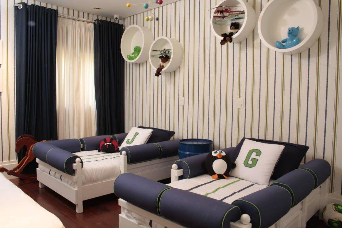 Dormitorios Infantiles Modernos De Fernanda Moreira Ideas Para  # Muebles Lujosos Y Modernos