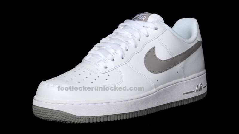 Nike Air Force 1 Low - White / Grey | KicksOnFire