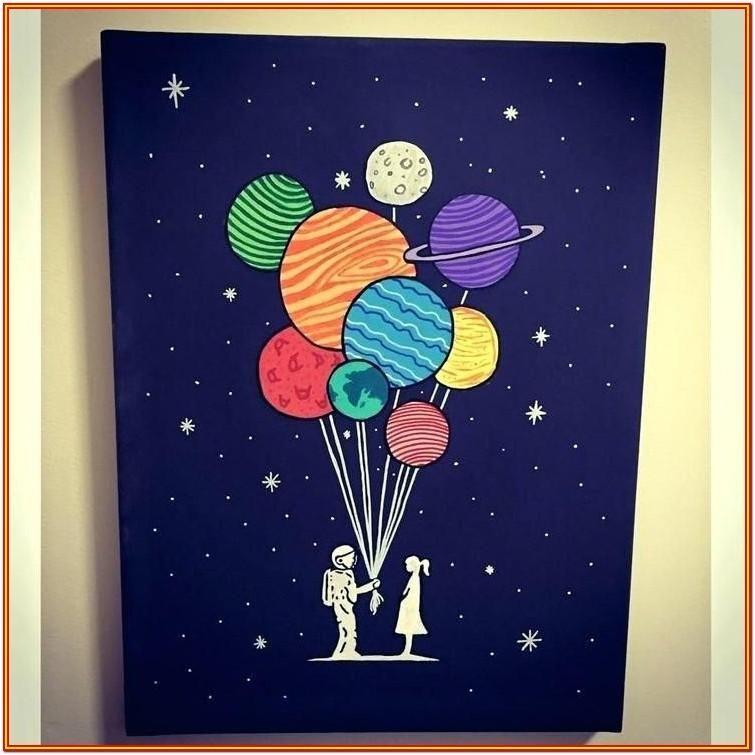 Painting Ideas Tumblr Easy Pintura De Lona Facil Corazon Acrilico