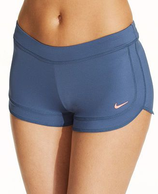 06c3395c30ec Nike Cover Up Swim Shorts - Swimwear - Women - Macy's | Swim in 2019 ...