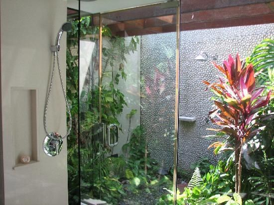 Indoor Outdoor Shower outdoor shower indoors | indoor and outdoor shower | dream home