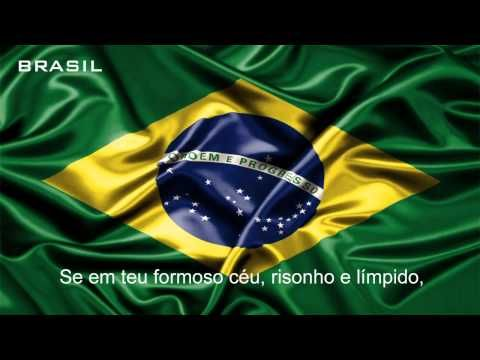 Hino Nacional Do Brasil Oficial Youtube Brasilidade Brasil
