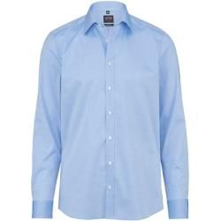 Photo of Olymp Level Five shirt, body fit, New York Kent, Royal, 37 Olympus