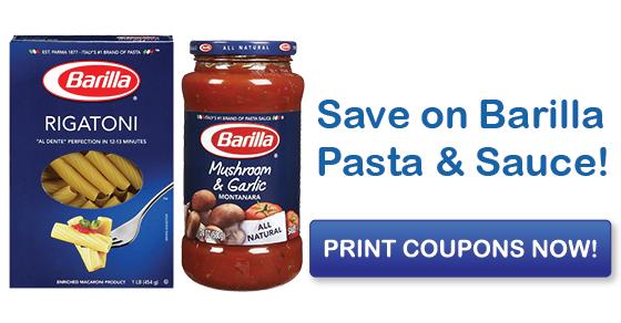 image regarding Barilla Printable Coupons named Conserve upon Barilla Pasta Sauce with Clean Printable Coupon codes