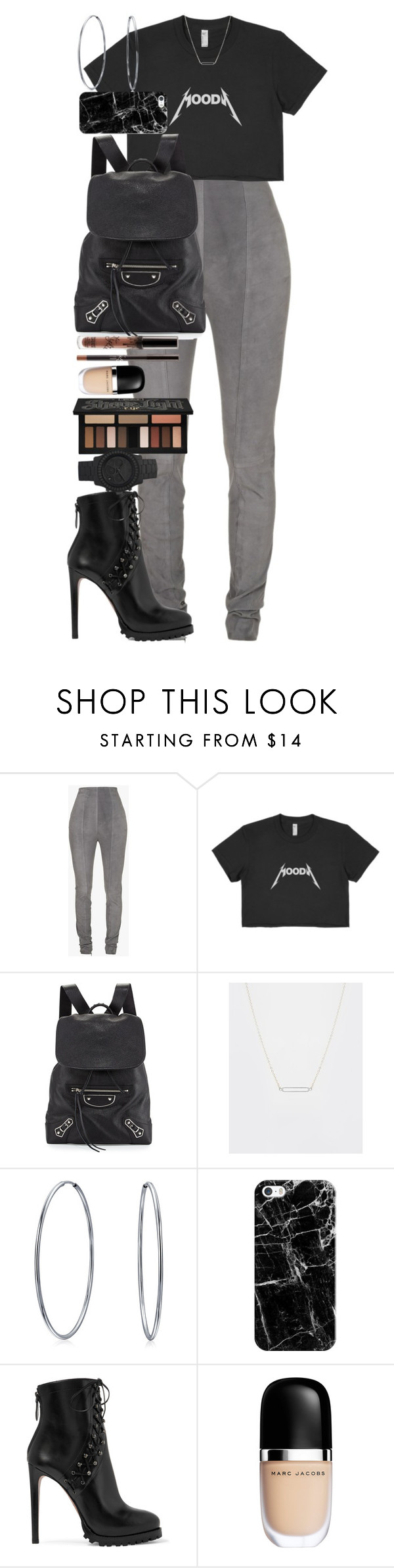 """""""We must accept finite disappointment, but never lose infinite hope."""" by quiche ❤ liked on Polyvore featuring Balmain, Balenciaga, ASOS, Bling Jewelry, Casetify, Alaïa, Marc Jacobs and Kat Von D"""
