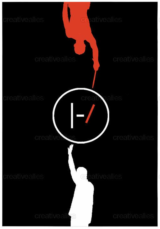 Kitchen Sink Twenty One Pilots Logo twenty one pilots postersuzana halder on creativeallies