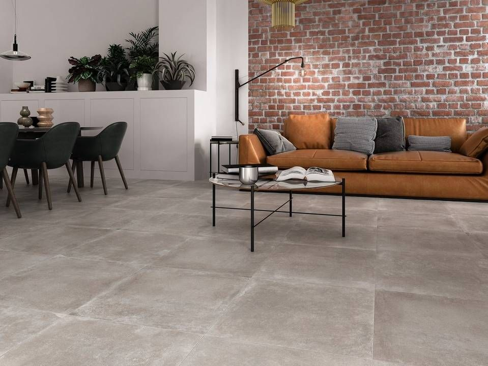 Cement Look Tile For Diffe Styles