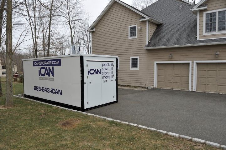ican storage portable storage containers westchester home show