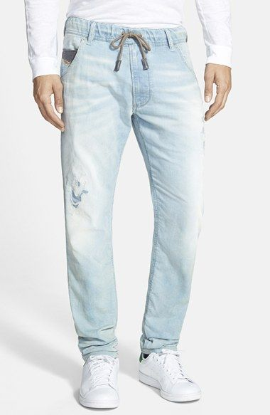 a664242d DIESEL® 'Krooley - Jogg Jeans' Slim Tapered Fit Jeans (0664V) available at  #Nordstrom