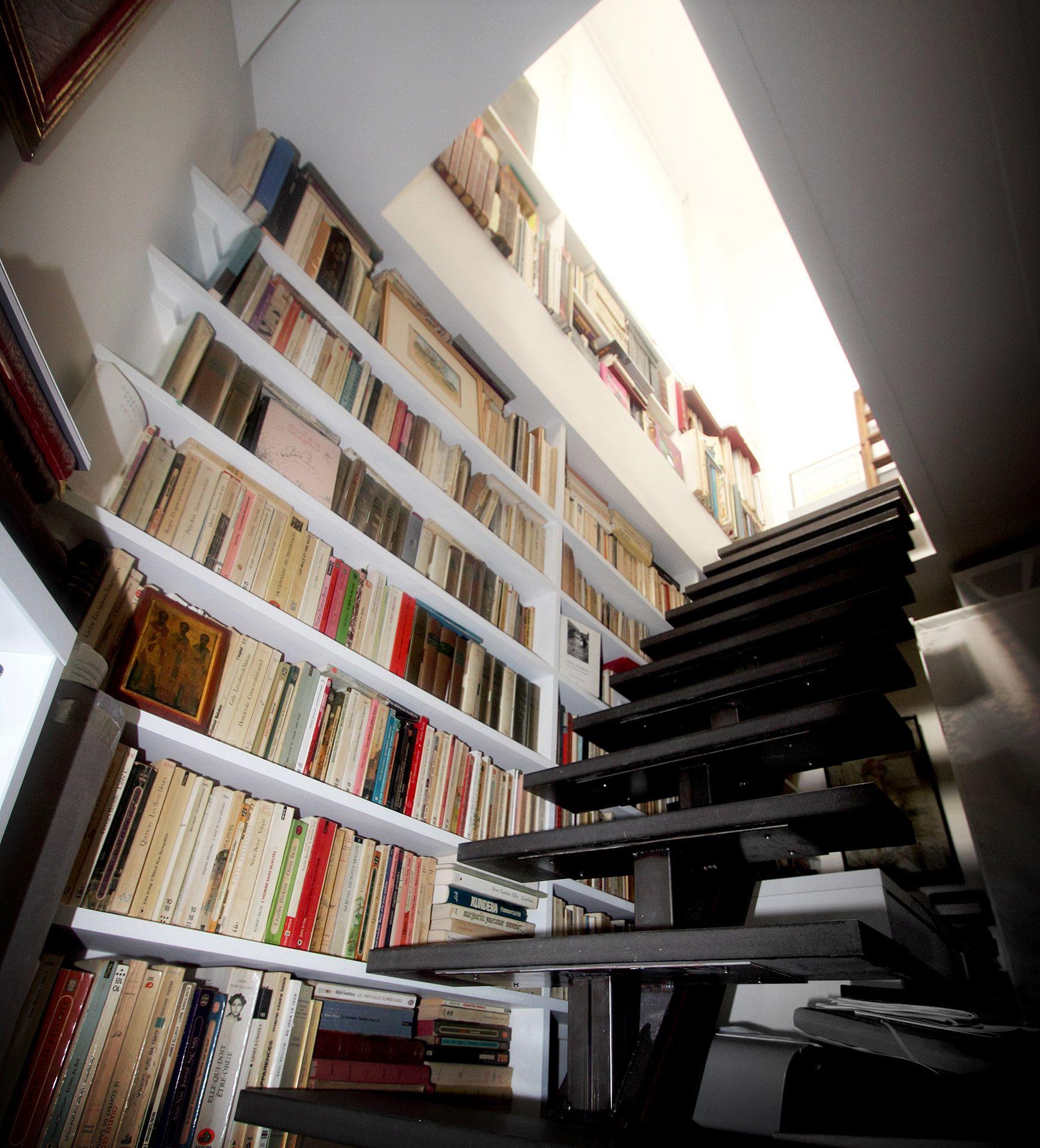 souplex verriere escalier metallique bibliotheque agence avous agence avous escalier. Black Bedroom Furniture Sets. Home Design Ideas