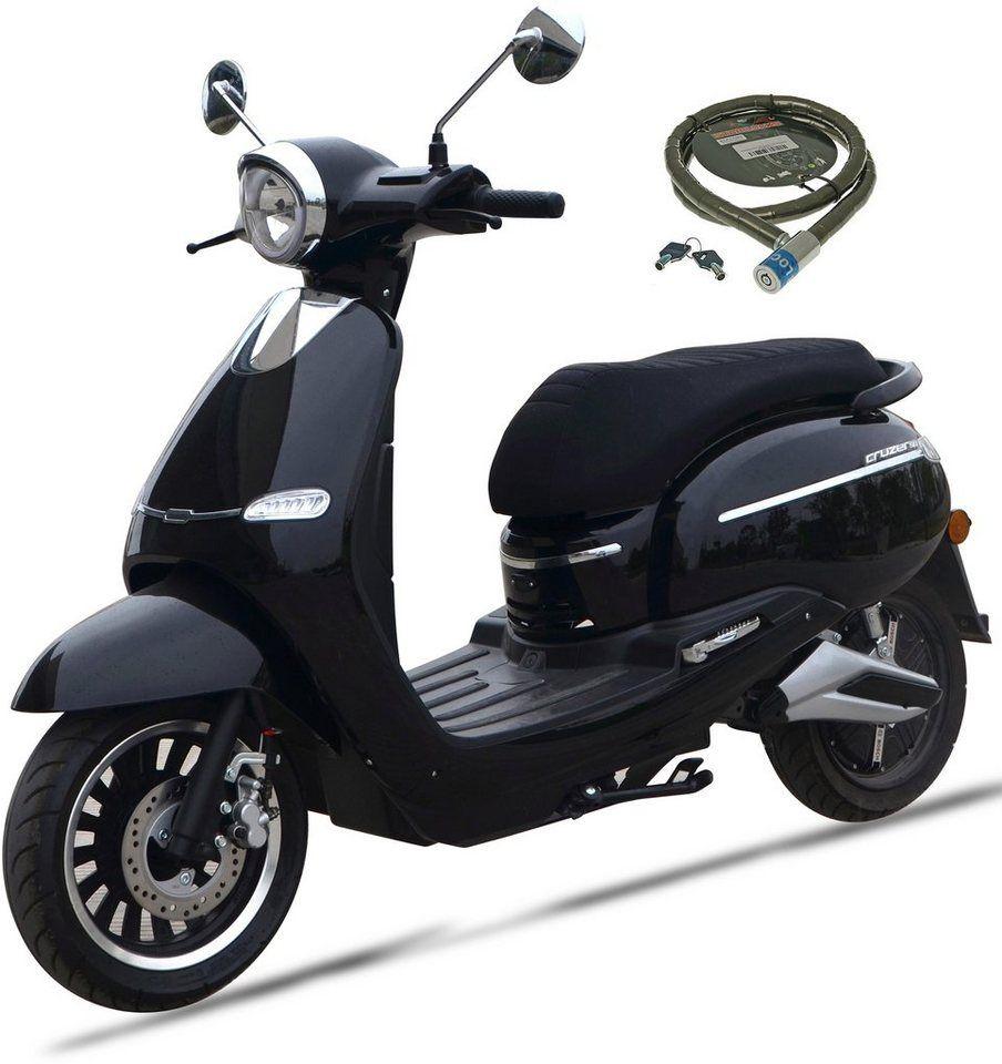 Nova Motors E Motorroller F 10 2400 W 45 Km H Euro 4 Mit Bosch Elektromotor Online Kaufen Otto Elektro Motor Elektromotor Motorroller