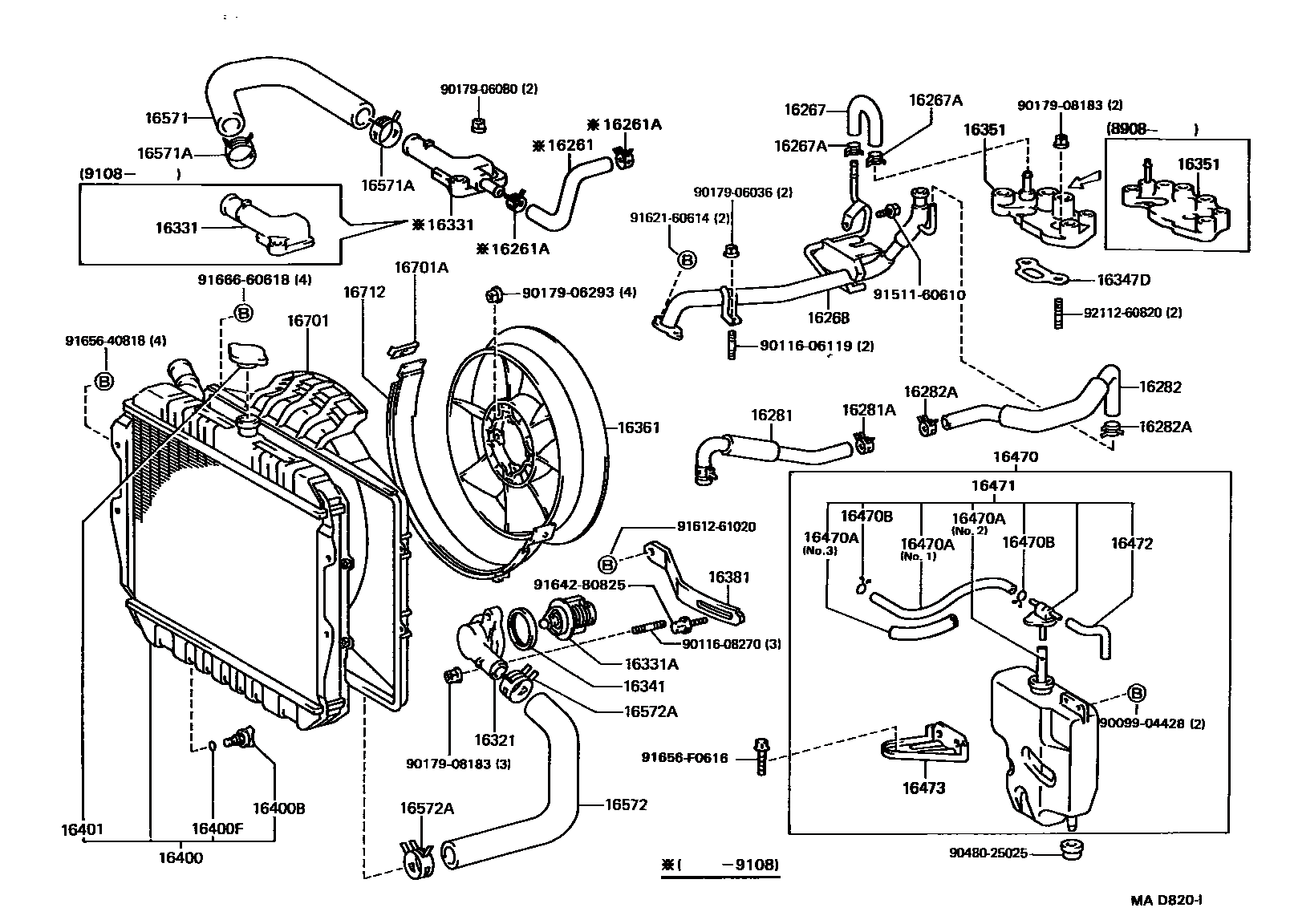Vacuum Hose Diagram Toyota 3vze With Images