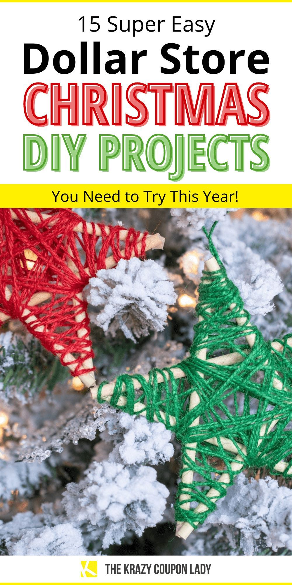 15 Dollar Store Christmas DIY Projects Anyone Can Do in 2020   Dollar store christmas diy ...