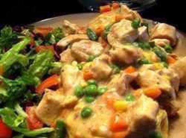 Slow Cooker Chicken Pot Pie Stew Recipe