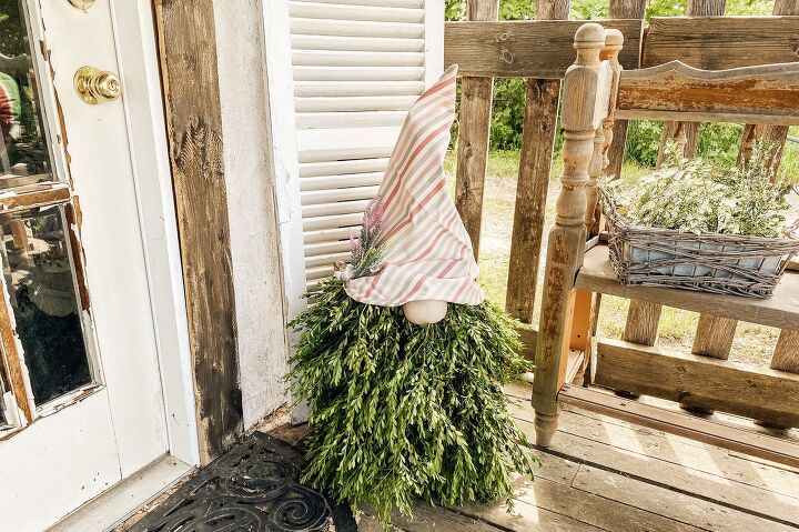 Summer Porch Gnome in 2020 Backyard crafts, Outdoor diy