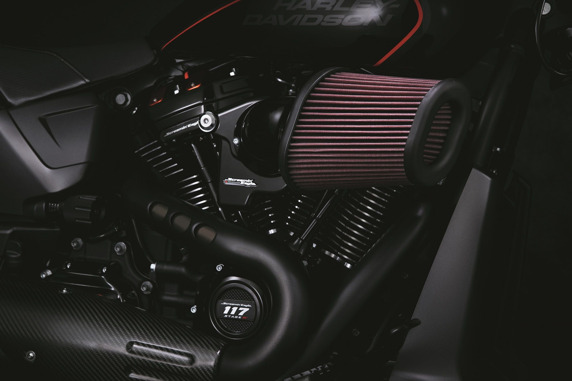 Screamin Eagle Heavy Breather Extreme Air Cleaner Street Glide Harley Screamin Harley Davidson Parts