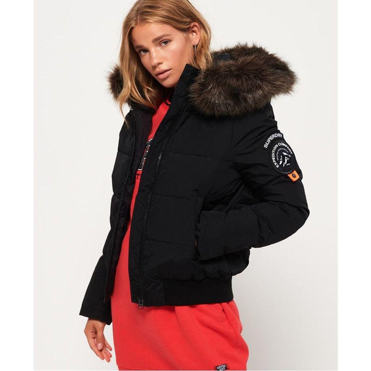 Superdry Bomber Everest Ella Vestes et manteaux pour Femme
