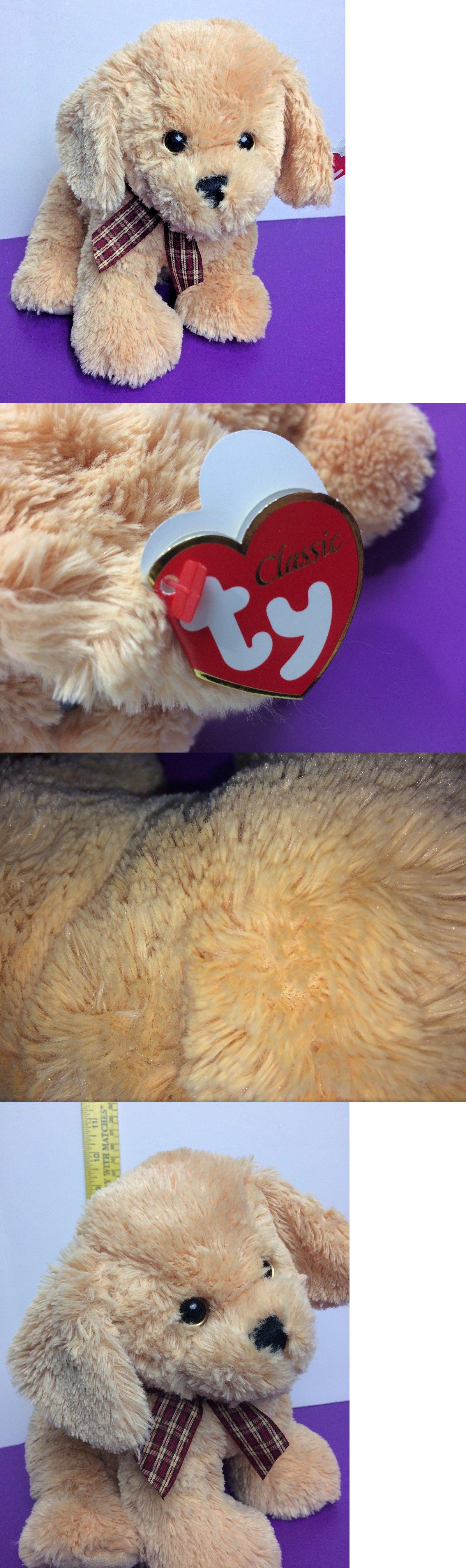 Retired 1636 Ty Classic Goldwyn Golden Retriever Puppy Sparkle