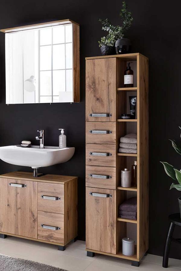 Badezimmerset Duella Schicke Bader Spiegelschrank Led Und Badezimmer Set