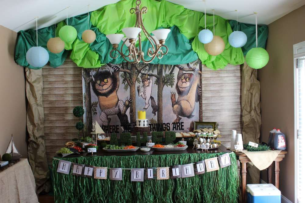Where The Wild Things Are Birthday Party Ideas Photo 1 Of 30 Fun Birthday Party Wild One Birthday Party Wild Things Party