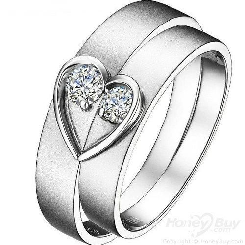 Custom Made Wedding Rings Are Personalizednew Arrival Heart
