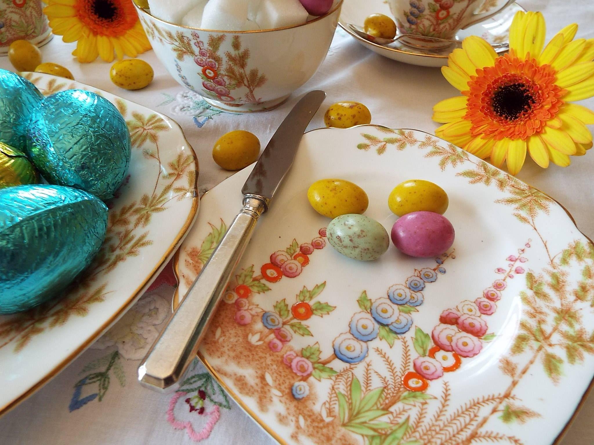 Easter tea....