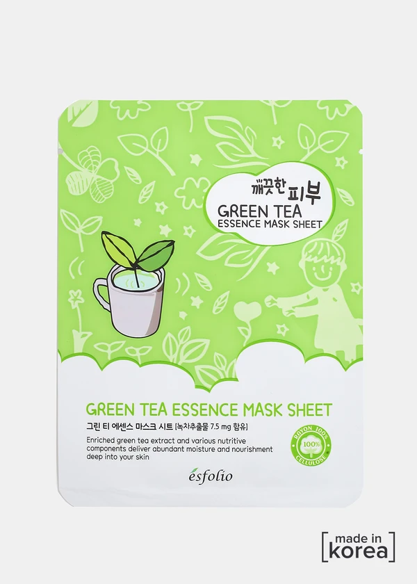 Photo of ESFOLIO Pure Skin Essence Mask- Green Tea