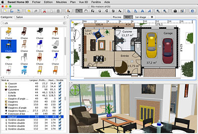 Sweet Home 3d Draw Floor Plans And Arrange Furniture Freely Home Design Software Home Design Software Free Design Your Own Home