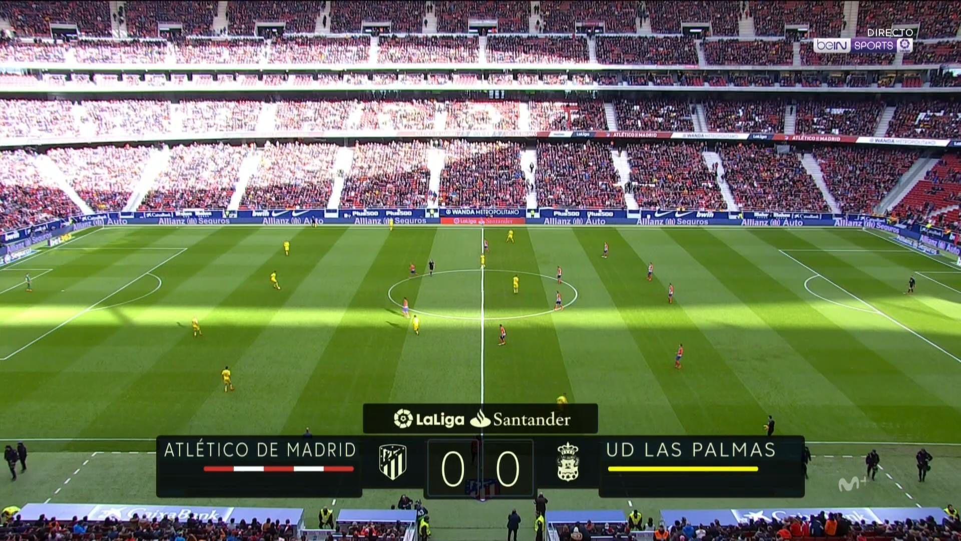 Pin on goals La Liga 17/18 J21 Atletico Madrid vs. Las
