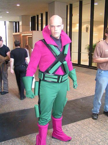 Lex Luthor cosplay