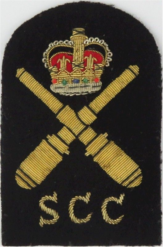 SCC Drill Instructor (Crown / Crossed Guns / SCC) Trade