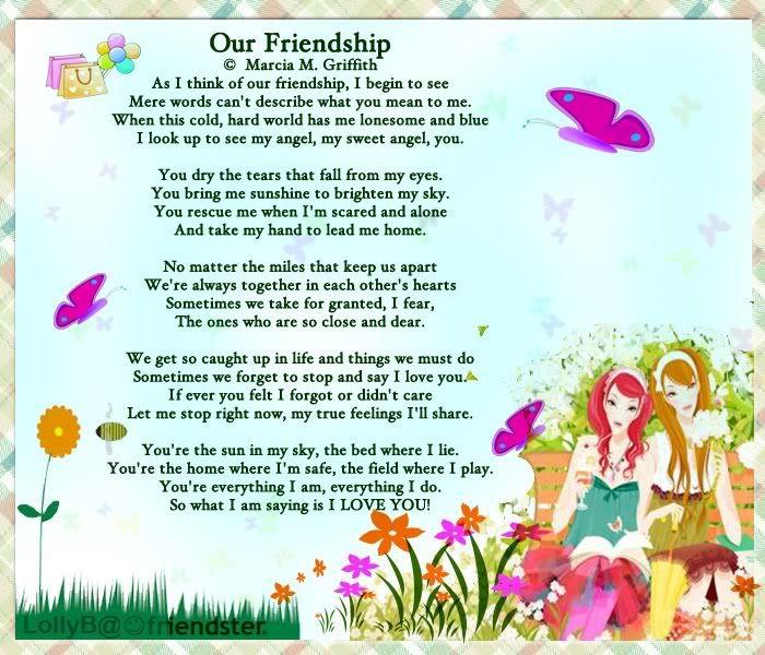 Best Friend Poems | Friendship Blog Best Friend Poems | My ...