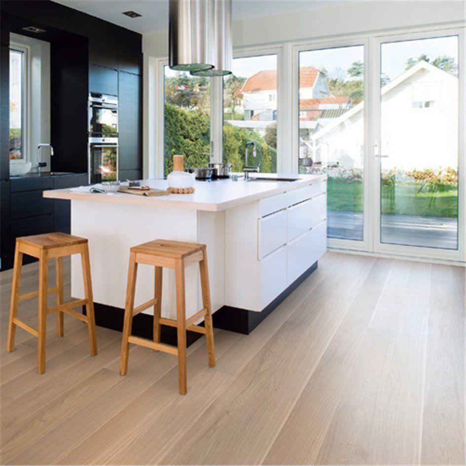 Parkett Boen Andante Hvit Eik 1-Stav | Kitchens and House