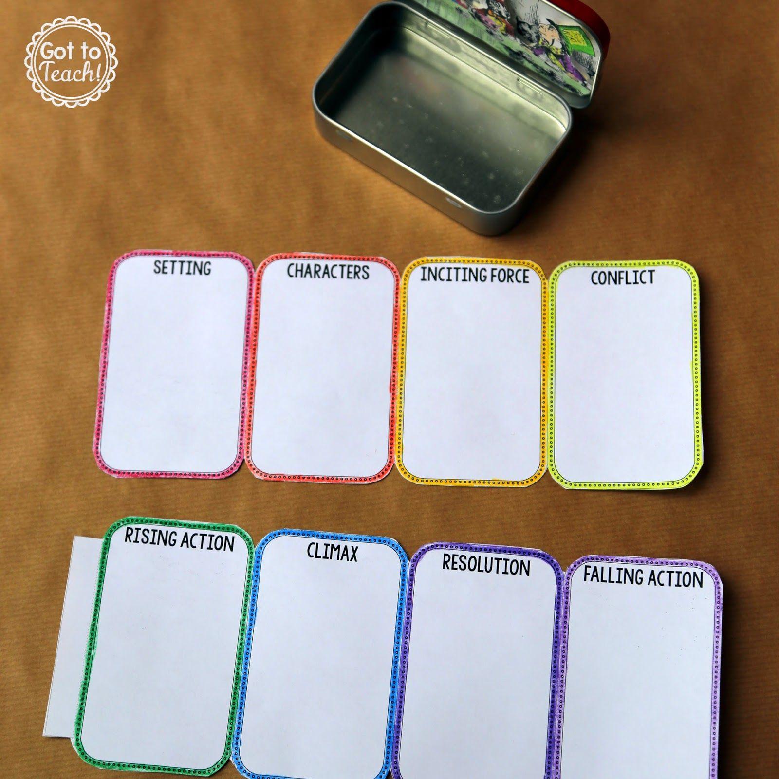 Mint Tin Book Report Teacher Thrive Book Report Mint Tins Report Card Template