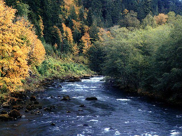 elwah river - washington state